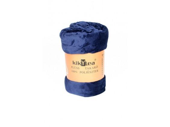 Odeja kikYLea - temno modra, 150x200cm