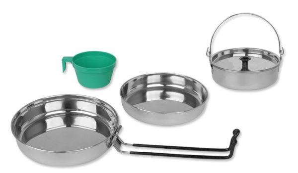 Set za kuhanje(1 oseba) - nerjaveče jeklo