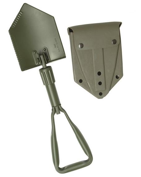 Vojaška zložljiva lopata z etuijem